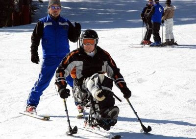 Vail Veterans Day - Assisted skiing